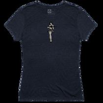 Magpul Tri-Blend Hula Girl Lady Shirt Medium Navy