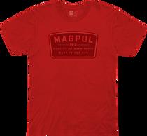 Magpul Fine Cotton Go Bang Shirt Small Red