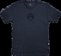 Magpul Icon Logo, T-Shirt, Large, Navy Heather