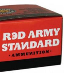 Red Army Standard 45 ACP 230gr, FMJ, 50rd Box