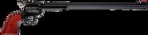 "Heritage Mfg Rough Rider Single Action Revolver, 22 LR, 16"", 6 Rd, Cocobolo Grip, Blued"
