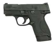 "Smith & Wesson M&P Shield 9mm, Trade-In, 3.1"" Barrel, Black, 7rd/8rd"