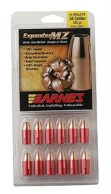 Barnes 50054 Muzzleloader 54 Black Powder Expander MZ 325gr, 24Pk
