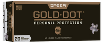 Speer Gold Dot 223 Rem 75gr, Gold Dot Hollow Point, 20rd Box