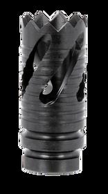 TacFire Thread Crown Muzzle Brake 9mm Black Oxide Steel