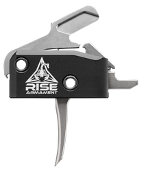 Rise Armament RA-434 High Performance AR-Platform Black/Silver Single-Stage Flat 3.50 lbs