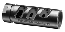 "Rise Armament RA-701 308 Win/7.62 NATO Compensator 5/8""-24 tpi Black Nitride 416 Stainless Steel"