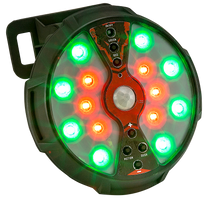 Hunters Specialties Johnny Stewart Feeder/Hog Light 500 Lumens Red/Green LED Polymer Black AA