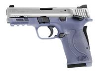 "Smith & Wesson M&P Shield EZ 380, 3.6"" Barrel, Orchid Frame, Satin Alum Cerakote Slide,  8rd"