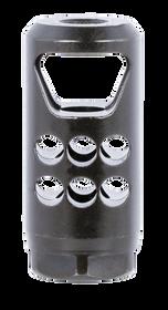 Ruger Hybrid Muzzle Brake 35 Caliber, Matte Black Steel