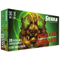 Sierra GameChanger 243 Win 70gr, Sierra BlitzKing, 20rd Box