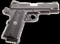 "Wilson Combat ACP Commander SAO 9mm 4.25"",, , Black Armor-Tuff, G10,  10 rd"