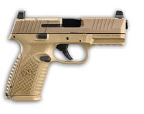 "FN FN 509 Midsize MRD 9mm, 4"" Barrel, Flat Dark Earth, Ambidextrous Controls, Non-Manual Safety, Optics Ready, 15rd"