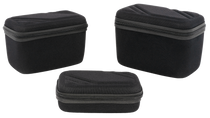 US PeaceKeeper Gear/Ammo Case EVA Denier Nylon, Black, Set of 3
