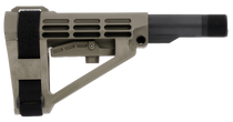 SB Tactical SBA4 AR Stock, Carbon Extension 5-Position, Olive Drab Green