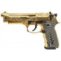 "EAA Girsan Regard MC Deluxe 9mm, 4.9"" Barrel,  Gold Plated, 18rd"