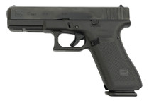"Glock 17 Gen 5 9mm USA Made, 4.49"" Barrel, Contrast Sights, Black, 17rd"