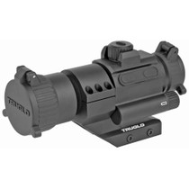 Truglo Ignite 30MM Red Dot AR-15 2MOA, 30mm Multi-Coated Objective Lens, Unlimited Eye Relief, Matte Black, Cantilever Picatinny Base, Lens Cap and AAA Alkaline Battery Included