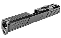 Zev Technologies Z19 Citadel Stripped Slide, RMR Plate, Gray