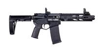 "Diamondback DB15 Tactical Pistol 5.56/.223, 7"" Barrel, Pro Sights, Black, 30rd"