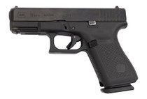 "Glock 19 Gen5 AUS Used 9mm, 4"" Barrel, Contrast Sights, Black, 15rd"