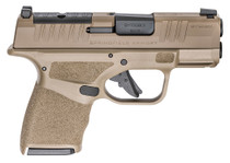 "Springfield Hellcat OSP 9mm, 3"" Barrel, Night Sights, Flat Dark Earth, 11rd/13rd"