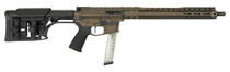 "Black Rain Fallout CQB PCC 9mm, 16"" Barrel, LUTH Stock, Bronze Battleworn, 30rd"
