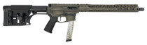 "Black Rain Fallout CQB PCC 9mm, 16"" Barrel, LUTH Stock, FDE Battleworn, 30rd"
