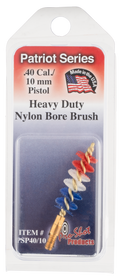 Pro-Shot Patriot Series HD Nylon Bore Brush .40 Cal. / 10mm Pistol