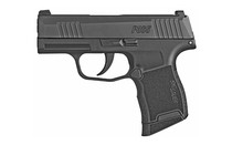 "Sig P365, Striker Fired, 9mm, 3.1"" Barrel, Polymer Frame, Black, XRay3 Day/Night Sights, 1 Magazine, Coupon In Box For 1 Magazine,"