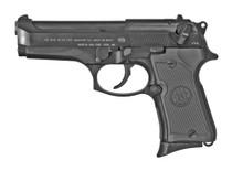 "Beretta 92FS Compact 9mm, 4.25"" Barrel, 3-Dot Sights, Decocker, Black, 13rd"