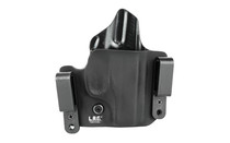L.A.G. Tactical, Inc. Defender Series, OWB/IWB Holster, Fits Ruger LC9, Kydex, Right Hand, Black
