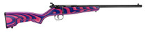 "Savage Rascal Minimalist .22 LR, 16"" Barrel, ChevCore Pink/Purple Laminate, 1rd"