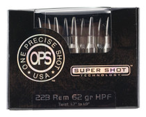Ammo Inc OPS 223 Rem 62gr, Hollow Point Frangible, 20rd Box