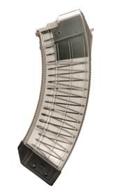 Century US Palm AK Magazine 308 Win-7.62 NATO AK-47, Clear Detachable, 30rd