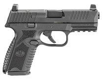 "FN 509 Mid Size MRD 9mm, 4"" Barrel, Black, Night Sights, 3x17rd Mags"