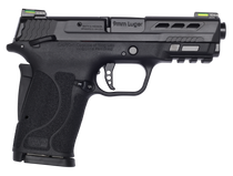 "Smith & Wesson Performance Center Shield EZ Compact, 9mm, 3.8"" Ported Barrel, Thumb Safety, Hi-Viz Litewave H3 Tritium/Lightpipe Sights"