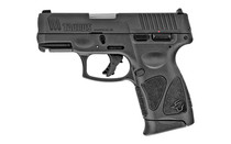 "Taurus G3C Pistol, Striker Fired, Compact, 3.26"" Barrel, Polymer Frame, Black Color, Fixed Front Sight With Drift Adjustable Rear Sight, 12Rd, 3 Magazines"