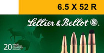 Sellier and Bellot 65X52r 117 SP 20Rd/Box