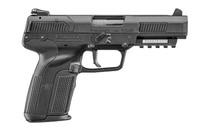 "FN Five seveN, Striker Fired, Full Size, 5.7x28mm, 4.8"" Barrel, Polymer Frame, Black, Ambidextrous, Adjustable Sights, 20Rd, 2 Magazines"