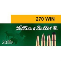 Sellier and Bellot 270 Winchester 150 SP 20Rd/Box