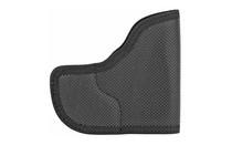 Desantis Nemesis Black Rubberized Fabric Pocket Sig P365,P365 Safety,P365 XL, Ambidextrous