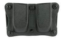 Desantis Quantico Mag Pouch, Ambidextrous, Black, Glock 43 and S&W M&P 9/40 Compact, Kydex