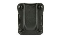 "Desantis Quantico Single Mag Pouch Outside Waistband Diamondback DB 9/40 Single Stack, 1.5"" Belt, Black Kydex"