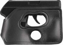 Desantis Pocket Shot Black Leather Pocket, Glock 42, Ambidextrous