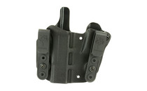 Desantis Pegasus Pipe Hitter IWB Appendix, Integrated Mag Pouch, Right Hand, Black, Kydex, Fits Glock 19/19X/23