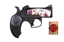 "Bond Arms Dead Mans Hand .45 LC/.410 Ga, 3.5"" Barrel, Distressed Black, 2rd"