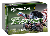 "Remington Premier Magnum Copper-Plated Buffered Turkey 12 Ga, 3"", 2 oz, 4 Shot, 5rd Box"