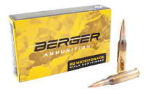 Berger Tactical 260 Rem 130gr, Hybrid Open Tip Match Tactical, 20rd Box