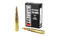 Barrett .50BMG M33 Ball 661gr, 10rd Box
